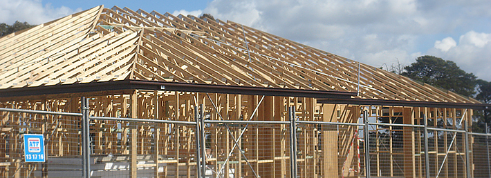 Trusstech Pre made roof trusses
